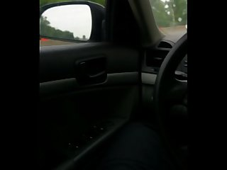 Playing with my bbc on the highway