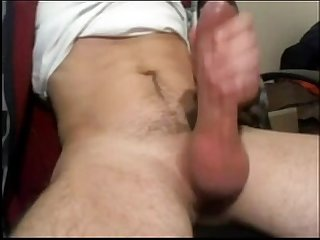Thick cock jerks