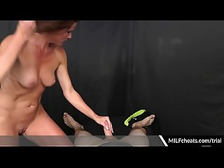 Sofie Marie Hot Milf Gives Nice Blowjob