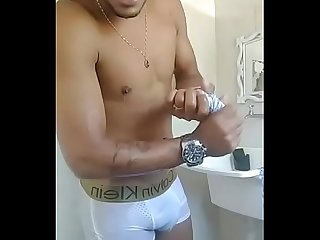 Hetero faz live no banho live on shower