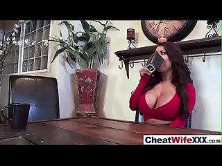 Hardcore Sex Tape With Lovely Cheating Sexy Wife (august sybil) video-07