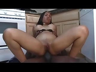 Killing non european model throats dick and gets it deeply inside in the kitchen