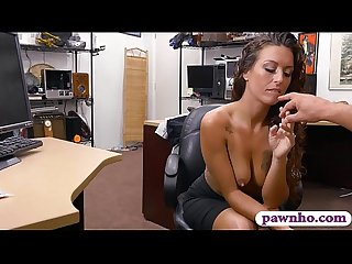 Pretty amateur brunette woman banged by nasty Pawn dude