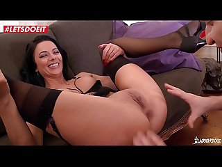 Stunning romanian brunette gets hardcore fucking session from french guy lpar shalina devine rpar