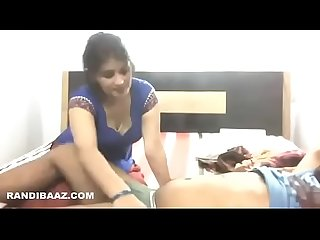 Hot Desi maid sucking dick and fuck