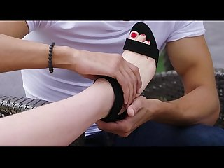 Love Her Feet - Get to know my stepson - Full video:..