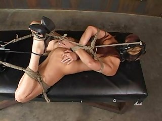 Satine Phoenix - Perfect Slave Hogtied and Fucked 02/25/2007