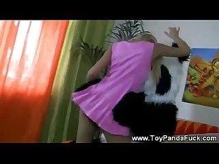 Toypanda sexy sing a long with teen girl