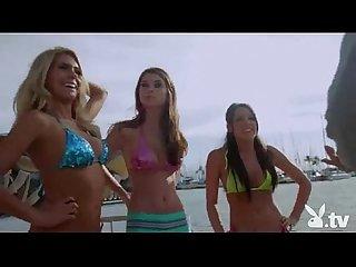 Hot girls sailing naked
