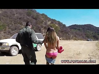 Black girl cop porn movies and sexy black male cops movies first time