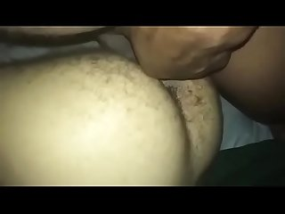 Hairy white ass can?t take bbc