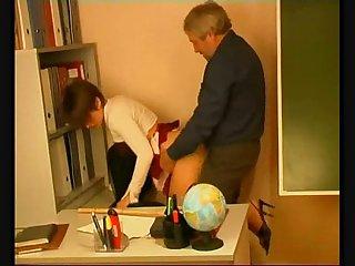 El profesor y la alumna