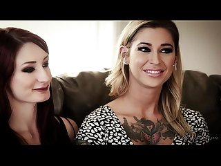 Lesbian couple in adult industry violet monroe kleio valentien