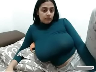 Sexy Indian Wife Big Boobs MILF Show On Webcam - www.thesluttycams.com