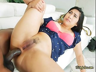 Asian chick mia li loves anal pounding from plumber