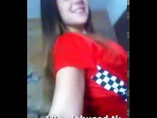 18yo teenie in Facebook video