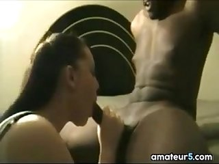 White Girl Sucking A Big Black cock