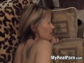 Hot amateur latina milf does anal