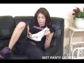 I stole my friends panties so i could masturbate with them