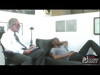 White Grandpa Gets Fucked By Ebony Thug - BoyFriendTV.com.MP4