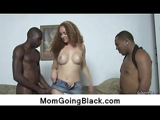 Hardcore interracial sex with sexy MILF 17