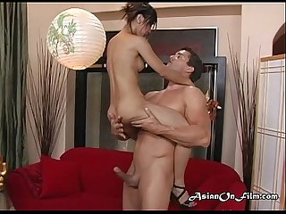 Skinny asian needs a fat cock