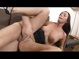 Brunette whore simone style spreads her legs and takes a thick cock in her pussy