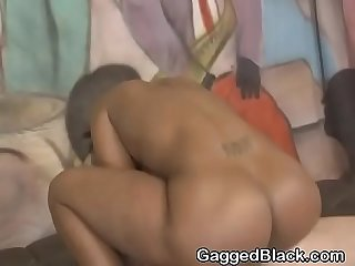 Very rough fucking for black ghetto whore sha dynasty