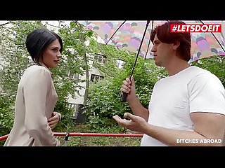LETSDOEIT - Ukrainian MILF Gabriella Rossa Has An Affair In Prague With An Old Friend