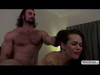 Ts foxxy in a raging anal sex