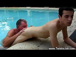 Hot gay scene brett anderson is one fortunate daddy he S met up with