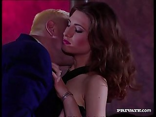 Spanish Silvia Enjoys two Cocks in her Pussy