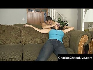 Big tit charlee chase foot fuck and tickled