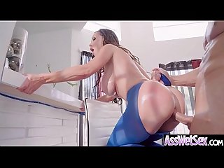 Nikki benz huge Ass oiled Sexy girl enjoy Anal Sex Video 25