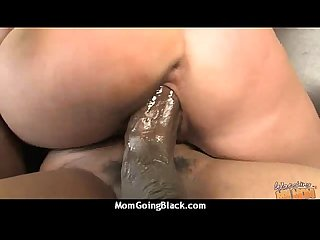 Huge black cock destroys amateur housewife 16