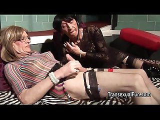 Real amateur older trannies fucking