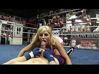 Brooke belle after boxing fuck