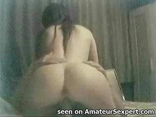 Perfect girlfriend blowjob and dick riding