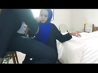 Arab Teen Hooker in Head scarf gettin dicked for dollars
