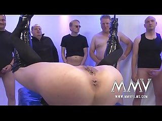 MMV FILMS Rough German Gangbang
