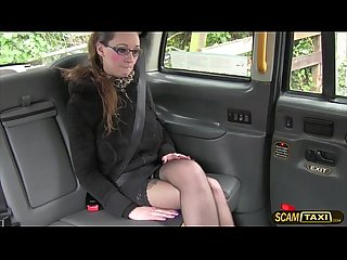 Darling demona gets hopped in the cab and gets a free hot sex