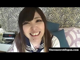 Uncensored Jav schoolgirl getting fucked