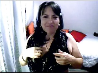 Madura caliente por webcam