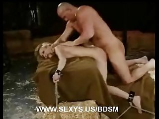 Mallory Bondage Fucked in The Barn