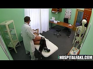 Sexy brunette patient gets fucked by her doctor20 4