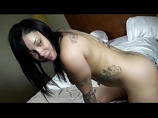 Latina pussy glides up an down my dick
