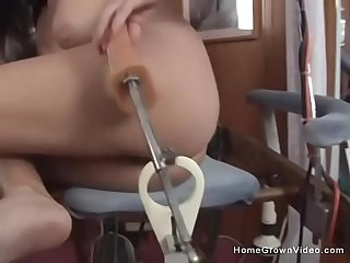 Lola Lynn Rides The Dildo Chair Then Sucks Dick