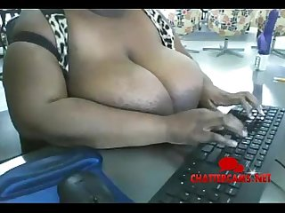 Ebony bbw desk bursting big tits chattercams net