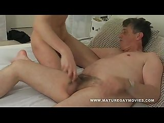Young boy get his ass fucked by daddy