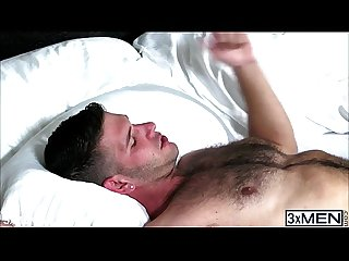Horny men jimmy fanz and Tanner shields passionately kissed and make out